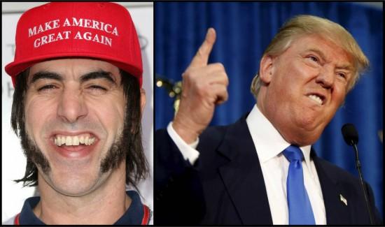 Sacha Baron Cohen Donald Trump