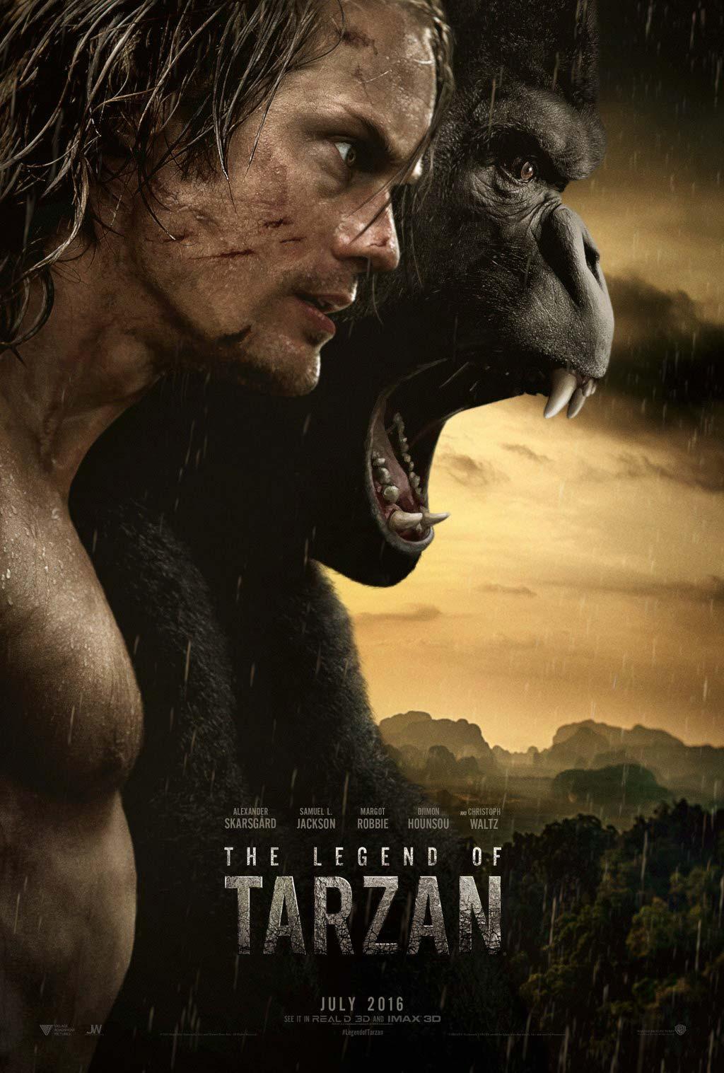 Tarzan Alexander Skarsgard Legend of Tarzan