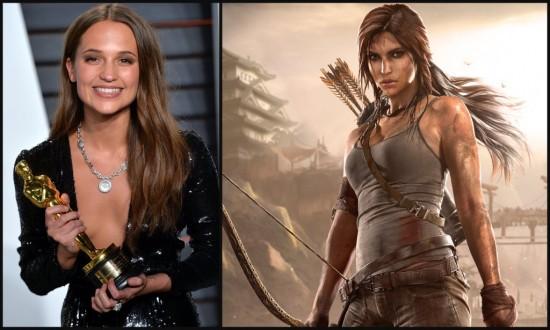 Alicia Vikander Tomb Raider MovieSpoon.com