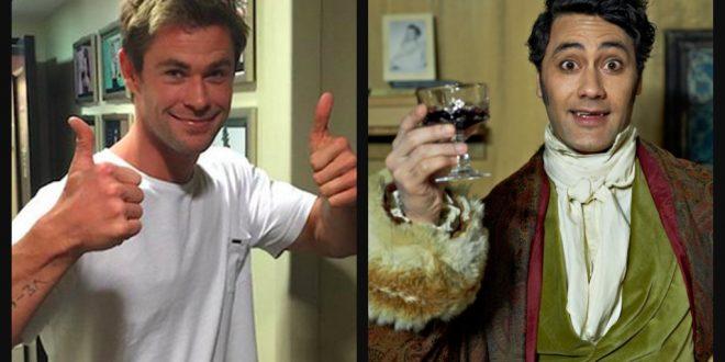 Chris Hemsworth Taika Waititi MovieSpoon.com