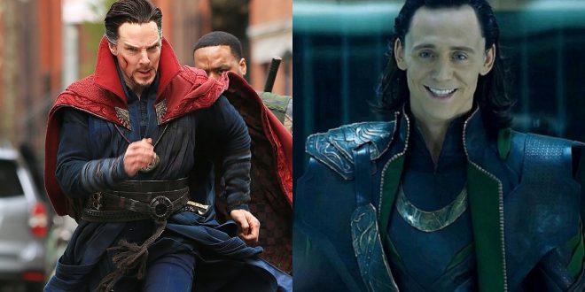 Doctor Strange Loki Benedict Cumberbatch Tom Hiddleston MovieSpoon.com