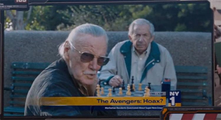 Stan Lee James Gunn MovieSpoon.com