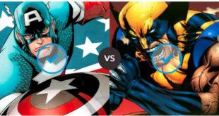 Cap versus Wolverine